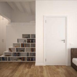 sobna vrata standard bela w1000