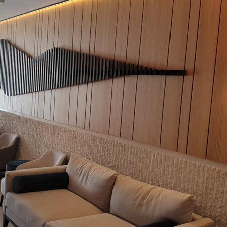 Hotel Poseidon, univer i lakirani furnir hrast